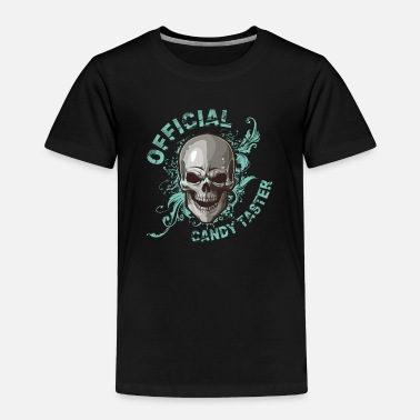 Halloween Skull - Toddler Premium T-Shirt