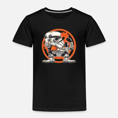 Sand FIGHTING IN THE SANDS - Toddler Premium T-Shirt