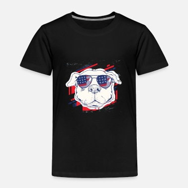 Cute Dog pitbull usa - Toddler Premium T-Shirt