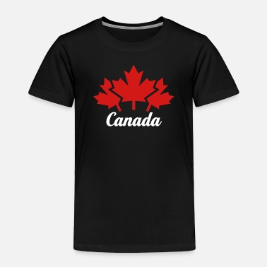 Canada CANADA 3 MAPLE LEAFS - Toddler Premium T-Shirt