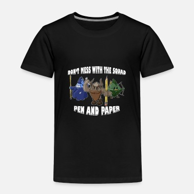 Evening Pen and Paper DnD Group Roleplay RPG Gift - Toddler Premium T-Shirt