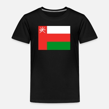 Bandera Flag of Oman (om) - Toddler Premium T-Shirt