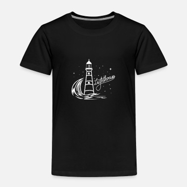 North Sea Lighthouse Coast North Sea Holiday Gift - Toddler Premium T-Shirt
