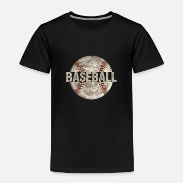 Game Ball Baseball Game Ball Distressed - Toddler Premium T-Shirt