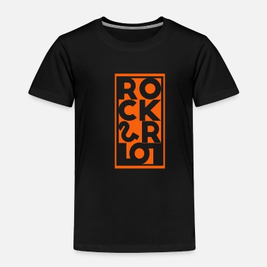 Drumming Rock and Roll - Toddler Premium T-Shirt