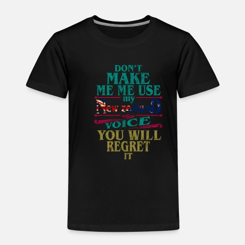 Toddler Premium T ShirtNew Zealand Christmas Birthday Gift Idea