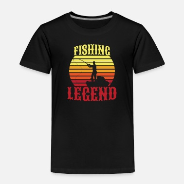Legend Boats Fishing Legend - Toddler Premium T-Shirt