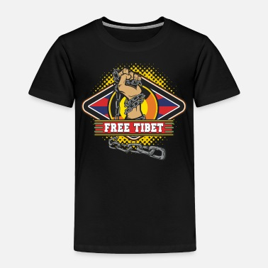 Tibet Free Tibet Chained Hand Freedom - Toddler Premium T-Shirt