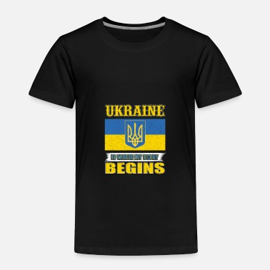 Czech Ukraine Is Where My Story Begins - Toddler Premium T-Shirt