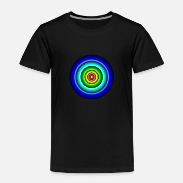 Circle Circle in Circle - Toddler Premium T-Shirt