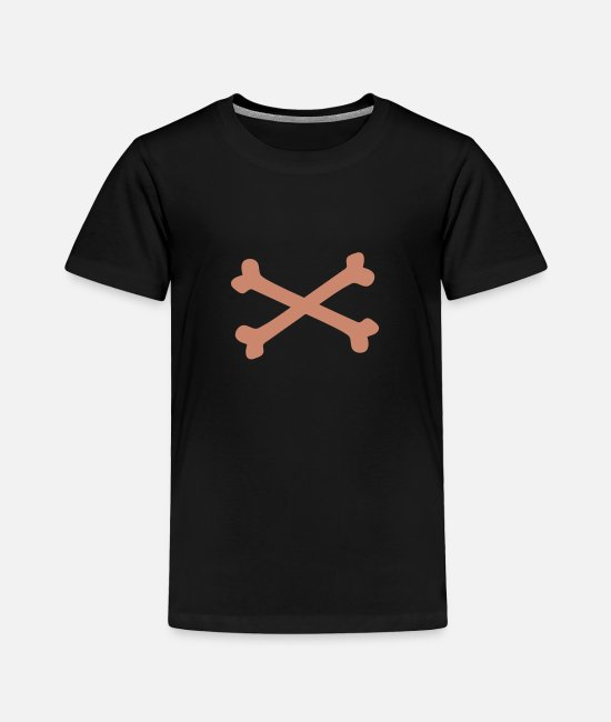 Venom T-Shirts - Crossbones - Toddler Premium T-Shirt black