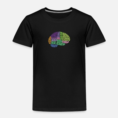 Region Regions of the brain - Toddler Premium T-Shirt