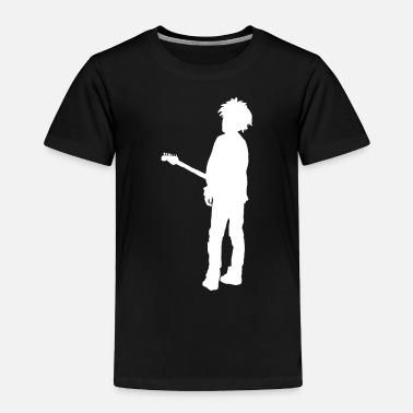 Robert Smith ( Musician ) Guitar - Toddler Premium T-Shirt