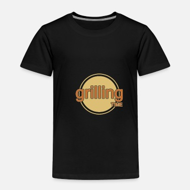 Menu Grilling - Toddler Premium T-Shirt