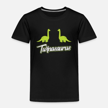 Some Dudes Marry Dudes. So Get Over It Twinasaurus Dinosaur Twin Brother Matching Archosa - Toddler Premium T-Shirt