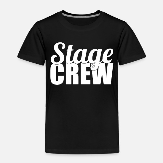 Stage Baby Clothing - Stage Crew - Toddler Premium T-Shirt black