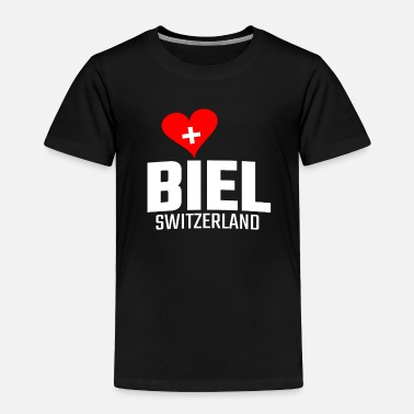 Biel Switzerland City - Toddler Premium T-Shirt