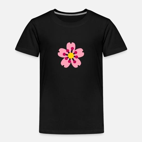Hibiscus Flower Emojis Toddler Premium T Shirt Spreadshirt