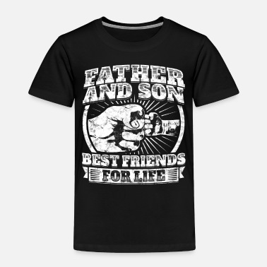Son Father And Son Matching Gift Family Dad Fist Bump - Toddler Premium T-Shirt