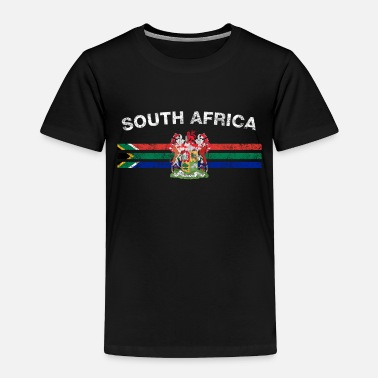Africa South African Flag Shirt - South African Emblem & - Toddler Premium T-Shirt