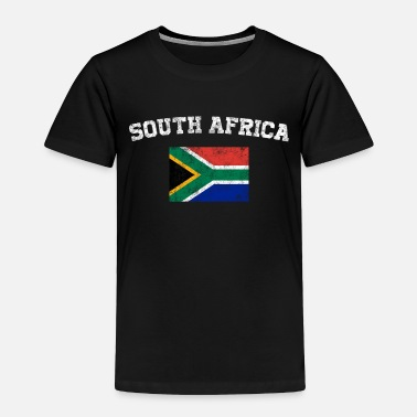 South Africa South African Flag Shirt - Vintage South Africa - Toddler Premium T-Shirt