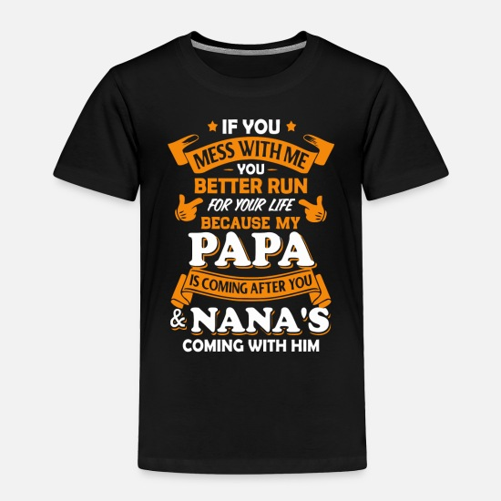 MY GRANDAD IS COOLER PERSONALISED BABY TODDLER T SHIRT KIDS FUNNY GIFT CUTE