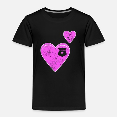 Police Hearts Police - Toddler Premium T-Shirt