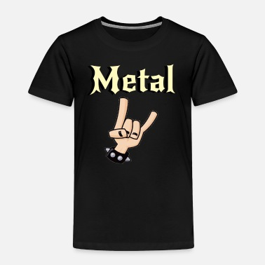 Metal Music Metal Music Shirt - Gift For Metal Music Lovers - Toddler Premium T-Shirt