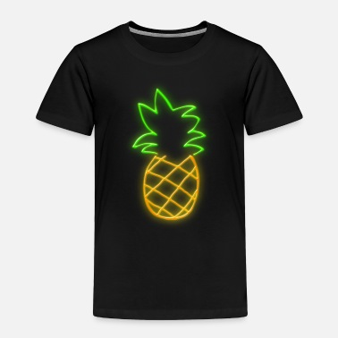 Neon NEON PINEAPPLE - Toddler Premium T-Shirt