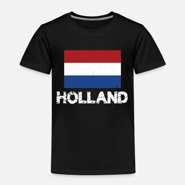 Holland Holland National Pride Dutch Flag Design - Toddler Premium T-Shirt