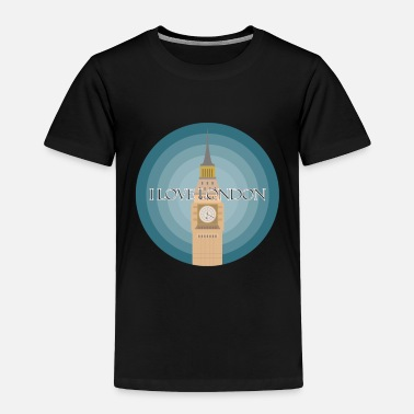 London I love London - Toddler Premium T-Shirt