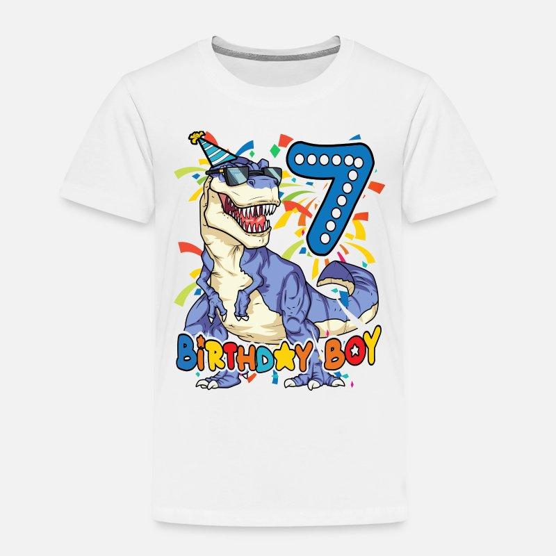 Birthday Boy Shirt 7 Year Old Toddler Premium T