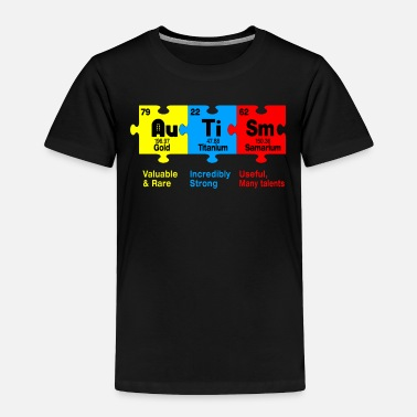 Chemical Elements Autism Chemical Element - Toddler Premium T-Shirt