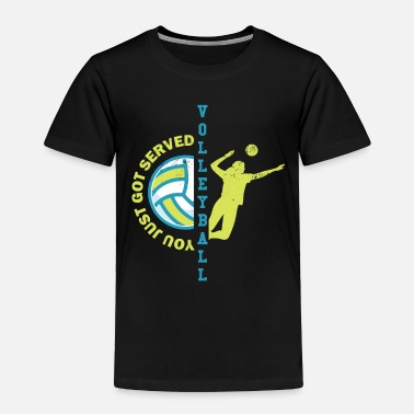 Volleyball Volleyball - Toddler Premium T-Shirt