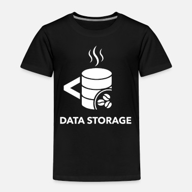Storage Data storage - Toddler Premium T-Shirt