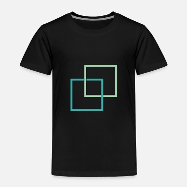 Square Squares - Toddler Premium T-Shirt