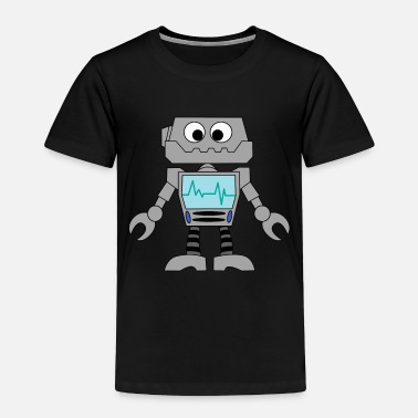 Robot robot toy mechanical awesome machine gift idea - Toddler Premium T-Shirt