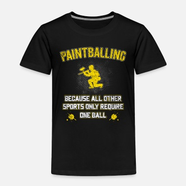 Painting Paintball Team balls gift balls mask marker - Toddler Premium T-Shirt
