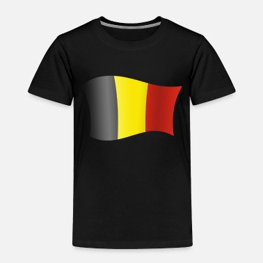 French Flag Belgium gift map flag chocolate - Toddler Premium T-Shirt