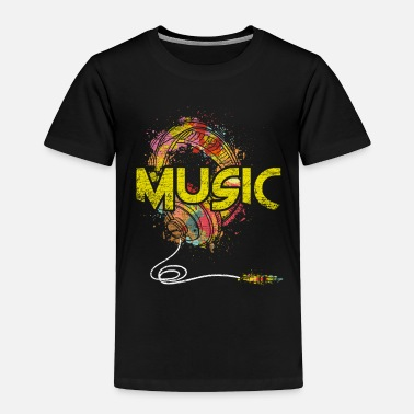 Music Club Music Genre Music Is Life Music Club Musical Gift - Toddler Premium T-Shirt