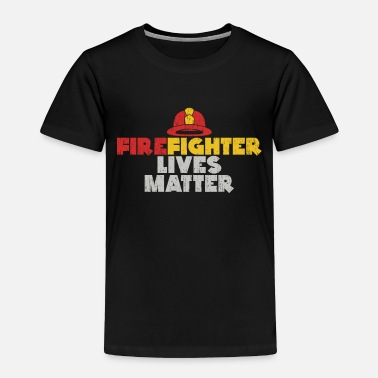 Fire Extinguisher Firefighter Lives Matter gift christmas fireman - Toddler Premium T-Shirt