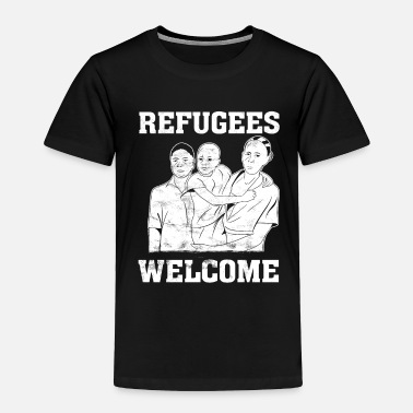 Refugee Refugees - Toddler Premium T-Shirt