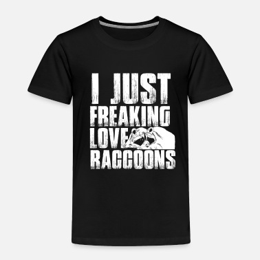 Paw Raccoon - Toddler Premium T-Shirt