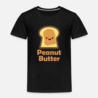 Set MATCHING SET Peanut Butter and Jelly Couple Friend - Toddler Premium T-Shirt