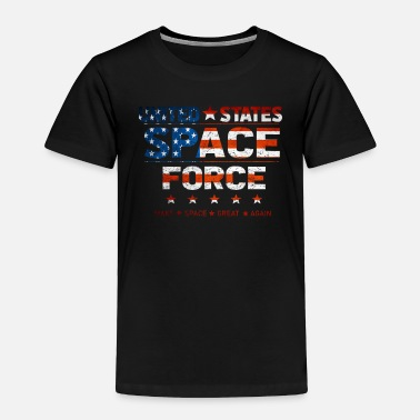 Against United States Space Force Make Space Great Again - Toddler Premium T-Shirt