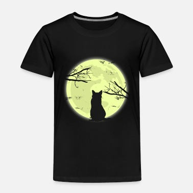Toy Cat Moon Shadow Gift Christmas Kids Cats - Toddler Premium T-Shirt
