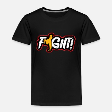 Present Fight Kung Fu Gift Christmas Fighting Sport - Toddler Premium T-Shirt