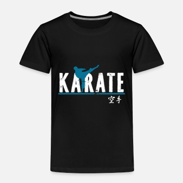 Stone karate gift martial arts Japan senpai - Toddler Premium T-Shirt