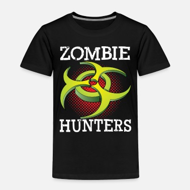 Bio Hazard Zombie hunter gift biological Bio Hazard Glow - Toddler Premium T-Shirt