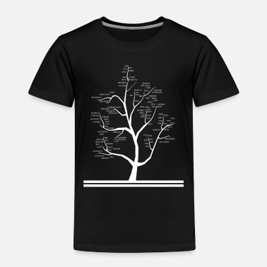 Computer Science Computer Science Teacher binary code Tree - Toddler Premium T-Shirt